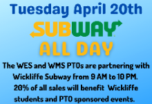 WES/WMS PTO Fundraisers