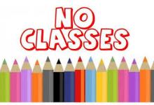 No Classes