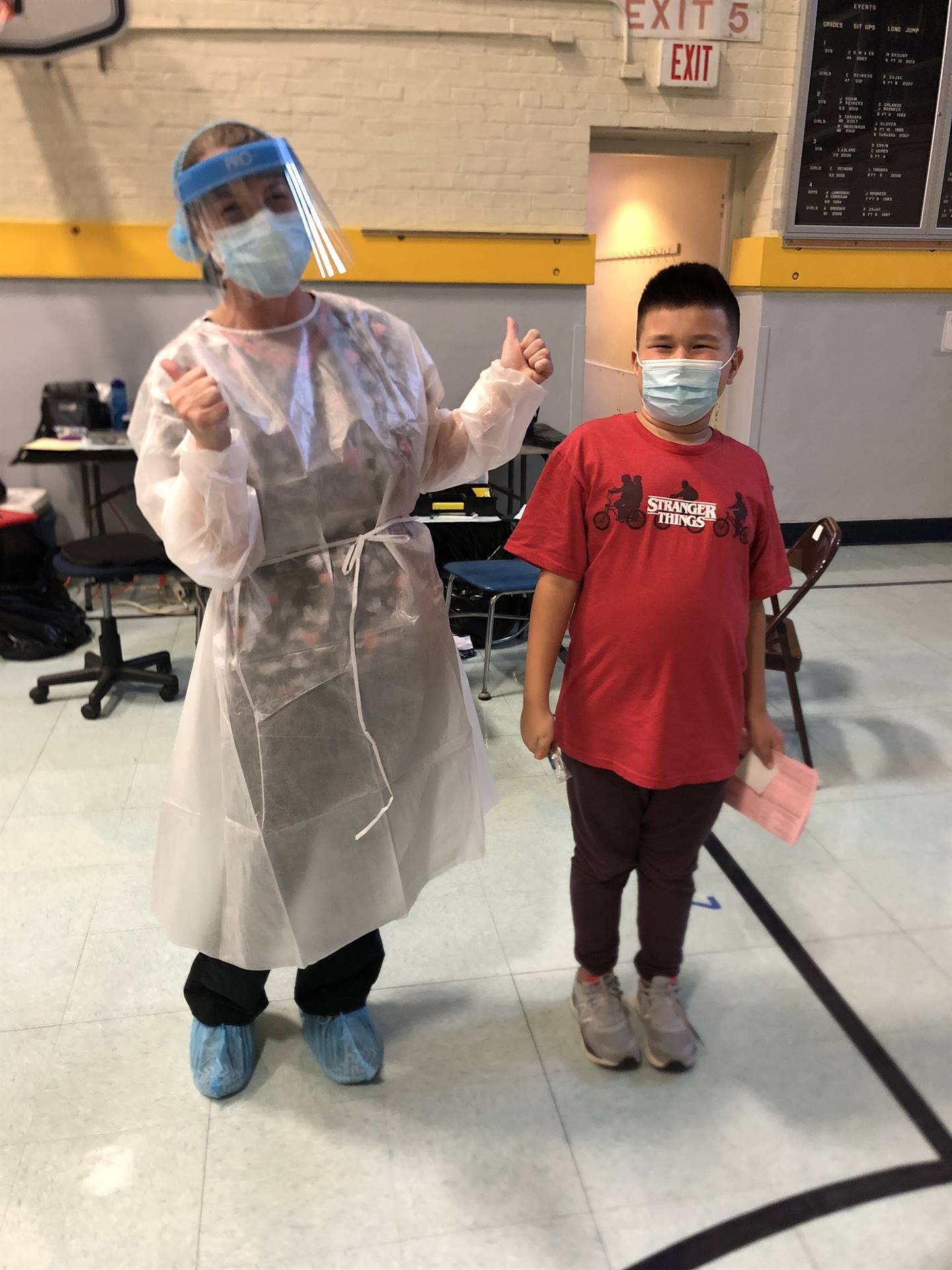 Student and Ohio Dental Outreach Dental Care Provider