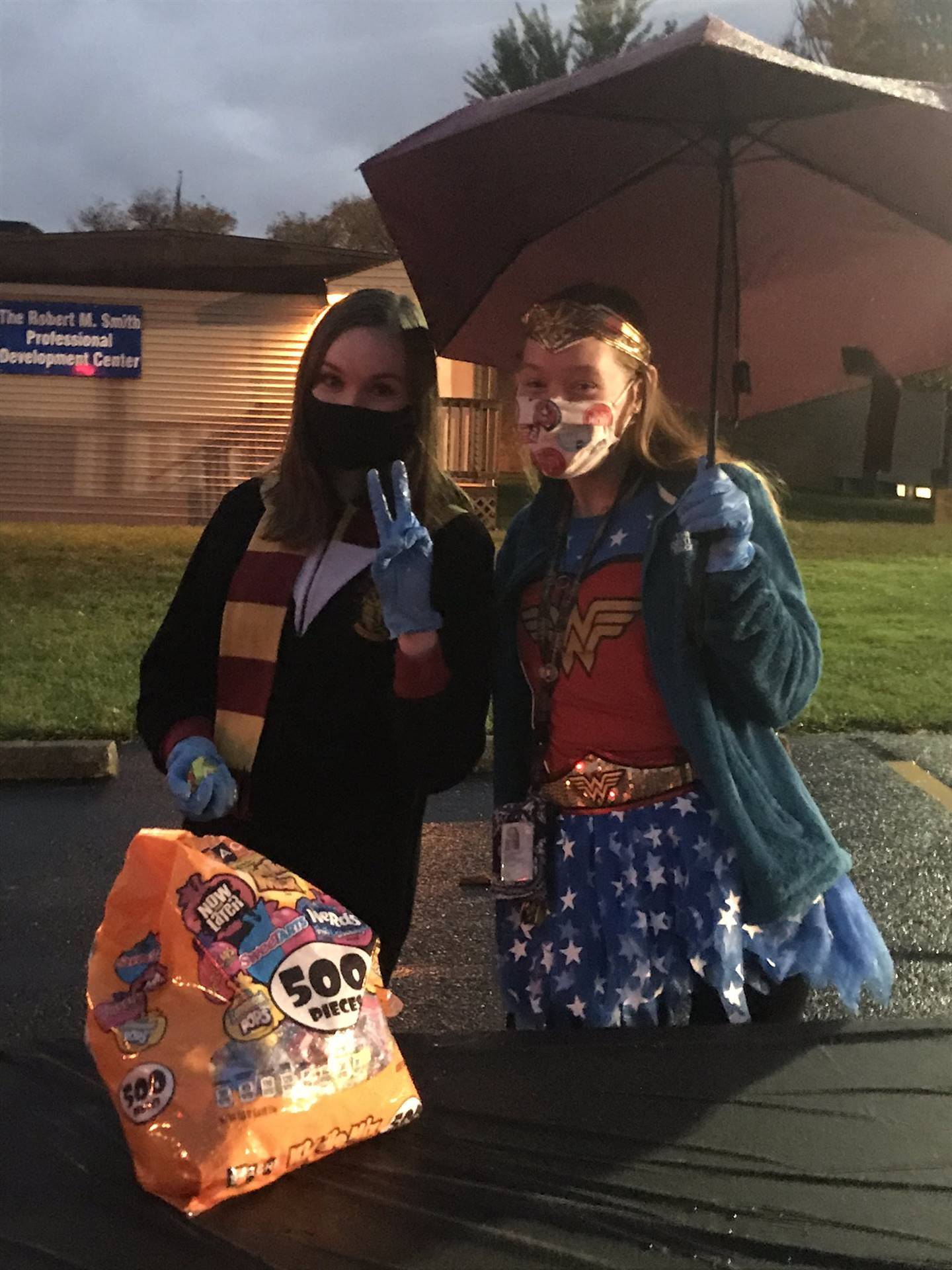 Drive-Thru Trick-or-Treat Event 10/29/2020