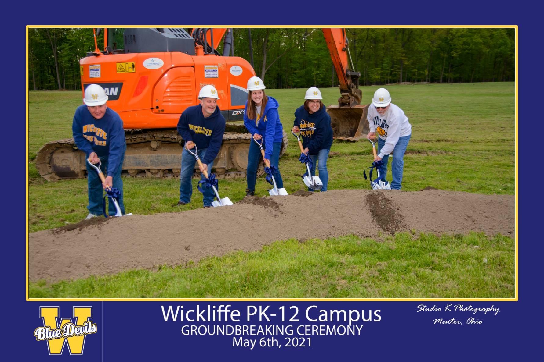 Wickliffe BOE Breaking Ground