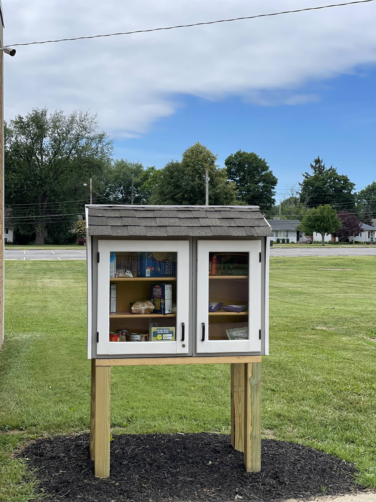 Free Little Food Pantry at the WFRC!